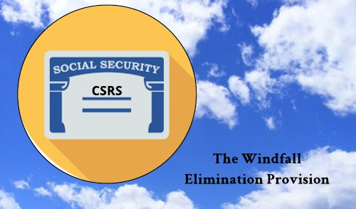 Social Security Windfall Elimination Provision