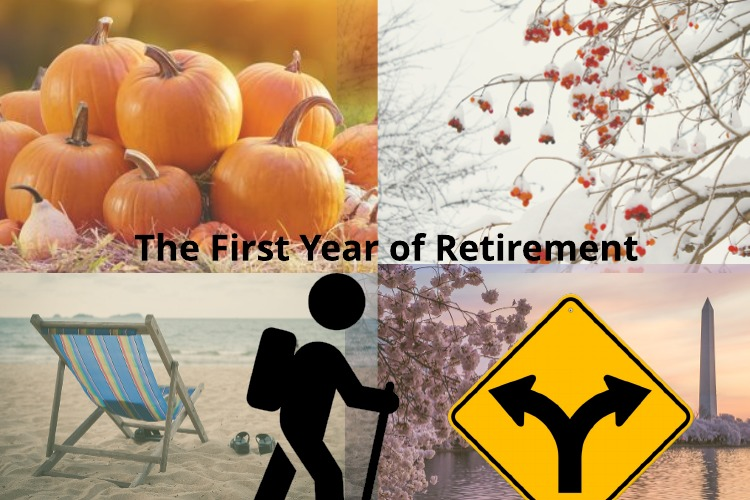 The First Year of Federal Retirement