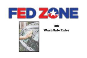 """IRS """"Wash Sale"""" IRS Wash Sale"""