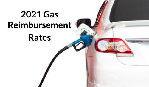 GSA Gas Mileage Reimbursement Rates