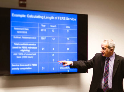 Retirement Benefits for Federal Employees